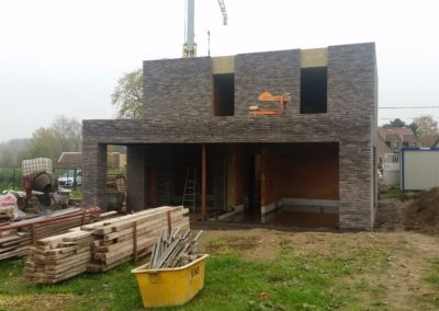 Nieuwbouw ééngezinswoning te Bavegem