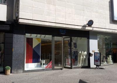 Herinrichtingswerken winkelruimte Nieuwstraat Aalst